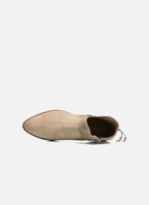 Bottines et boots Khrio Florencia Beige vue gauche
