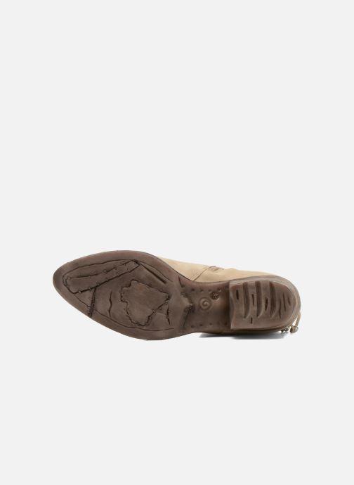 Bottines et boots Khrio Florencia Beige vue haut