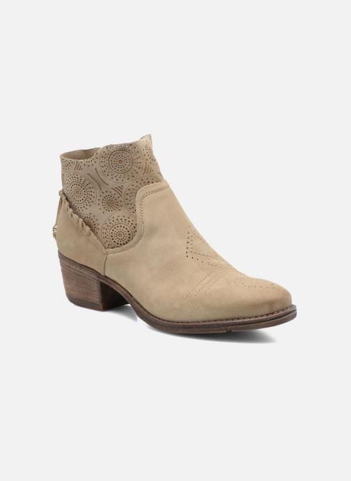 Bottines et boots Khrio Florencia Beige vue détail/paire