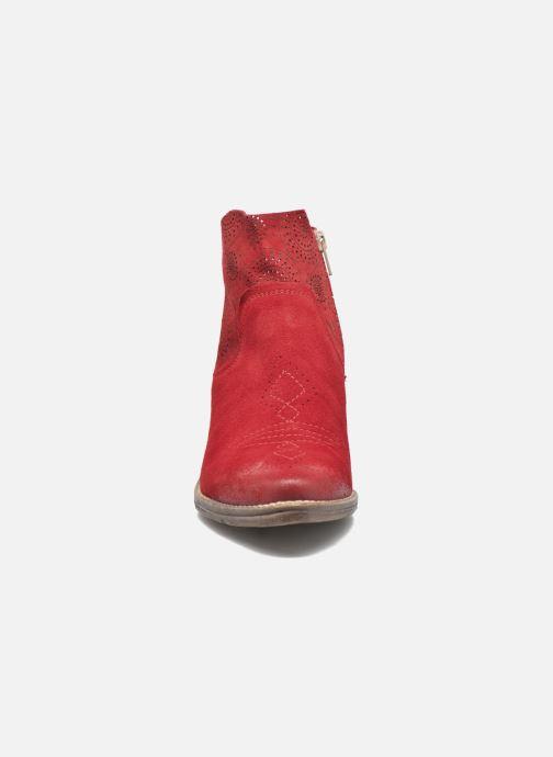 Bottines et boots Khrio Florencia Rouge vue portées chaussures