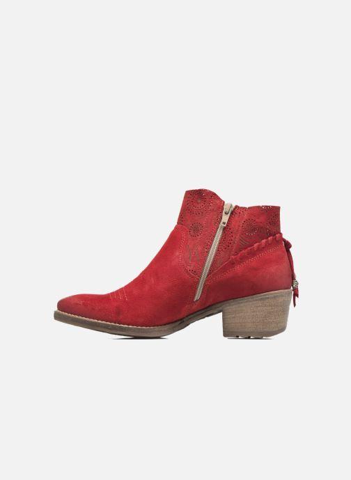 Bottines et boots Khrio Florencia Rouge vue face