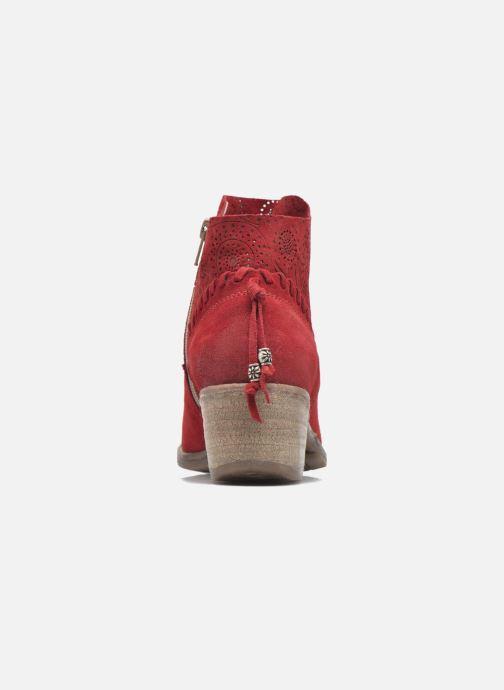 Bottines et boots Khrio Florencia Rouge vue droite