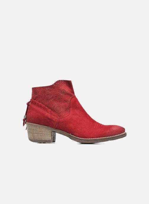 Bottines et boots Khrio Florencia Rouge vue derrière
