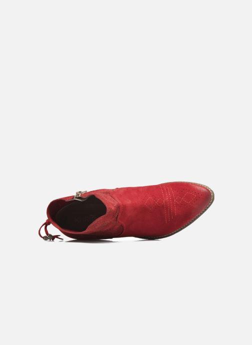 Bottines et boots Khrio Florencia Rouge vue gauche