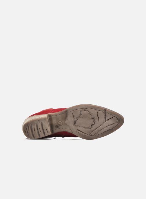 Bottines et boots Khrio Florencia Rouge vue haut