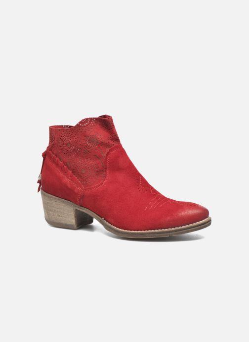 Bottines et boots Khrio Florencia Rouge vue détail/paire