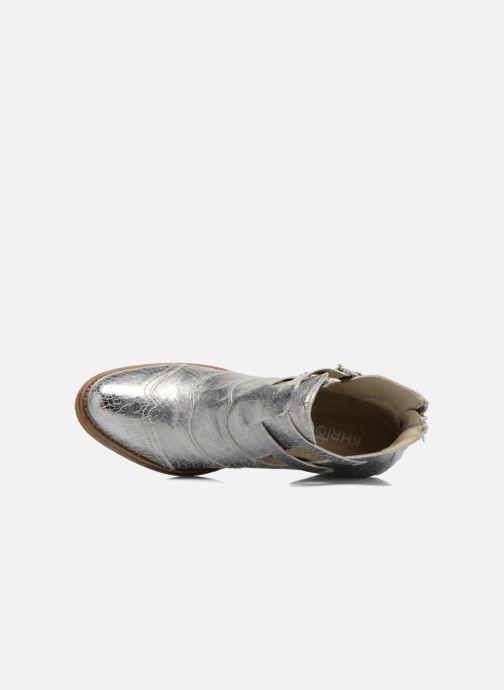 Bottines et boots Khrio Yopal Argent vue gauche