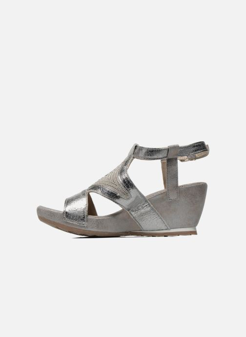 Sandals Khrio Monteria Silver front view