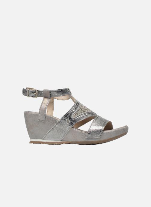 Sandales et nu-pieds Khrio Monteria Argent vue derrière