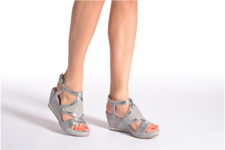 Sandali e scarpe aperte Khrio Monteria Argento immagine dal basso
