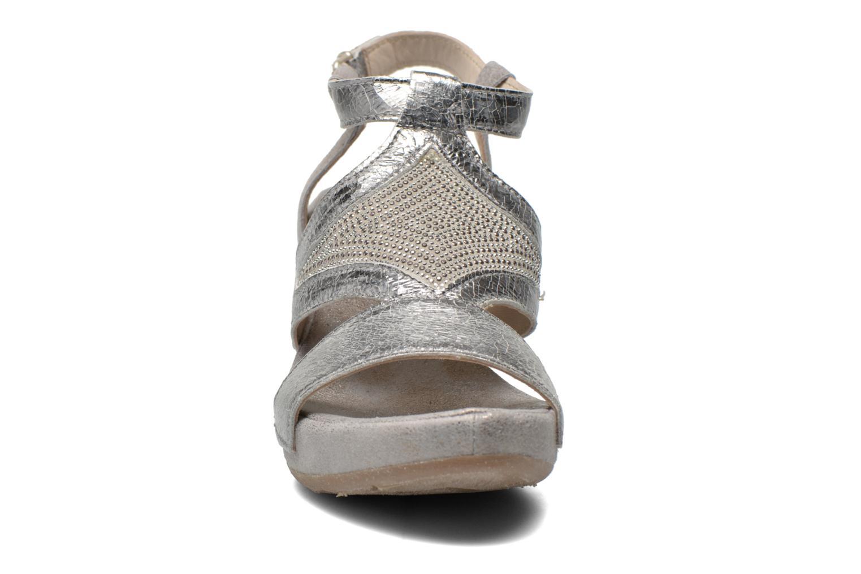 Sandali e scarpe aperte Khrio Monteria Argento modello indossato