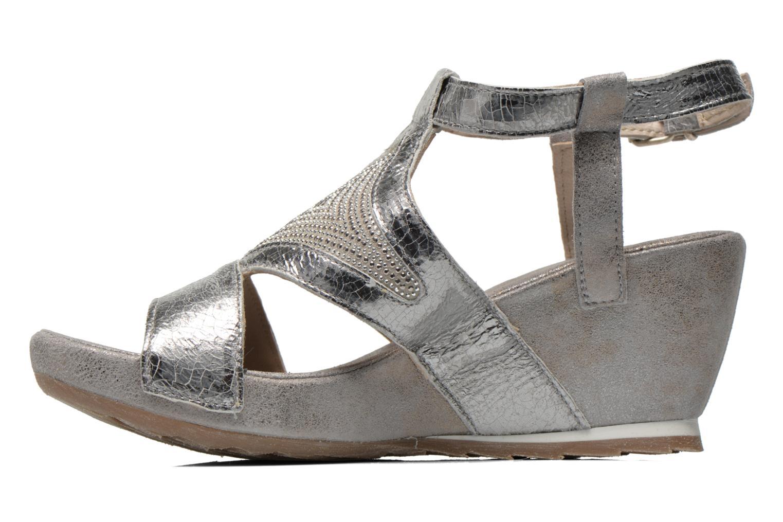 Sandali e scarpe aperte Khrio Monteria Argento immagine frontale