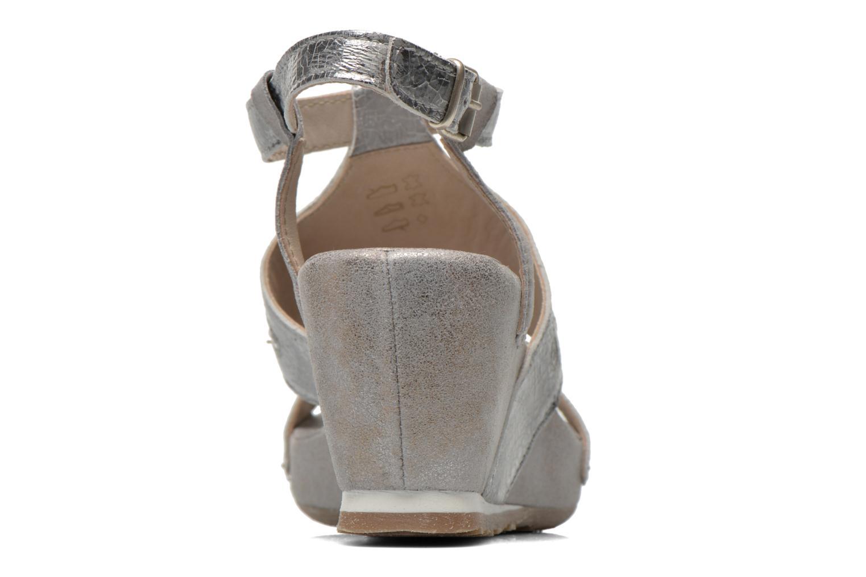 Sandali e scarpe aperte Khrio Monteria Argento immagine destra