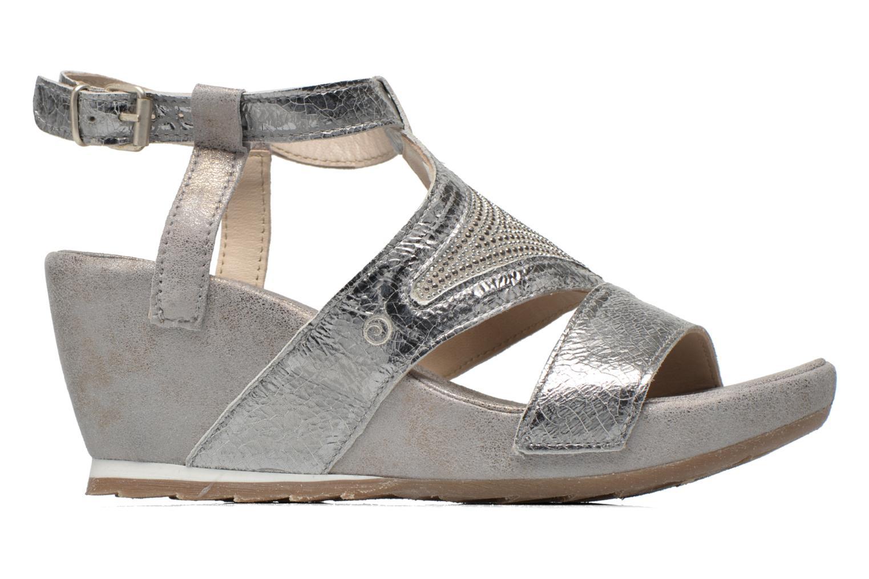Sandali e scarpe aperte Khrio Monteria Argento immagine posteriore
