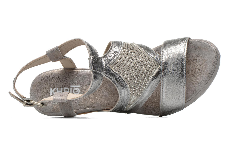 Sandali e scarpe aperte Khrio Monteria Argento immagine sinistra