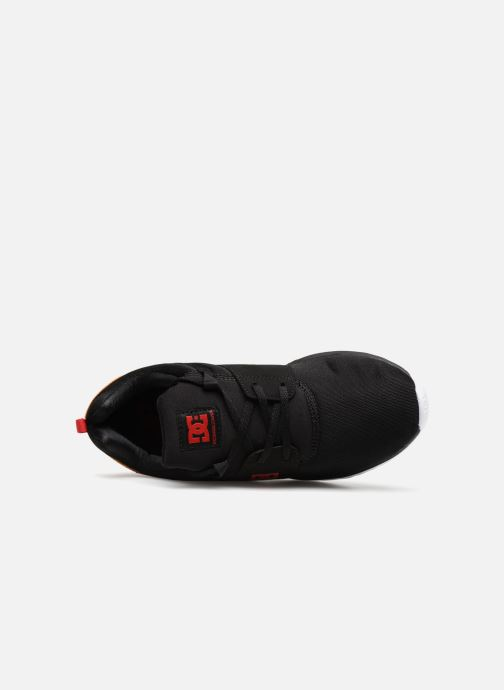 Sneakers DC Shoes Heathrow Nero immagine sinistra