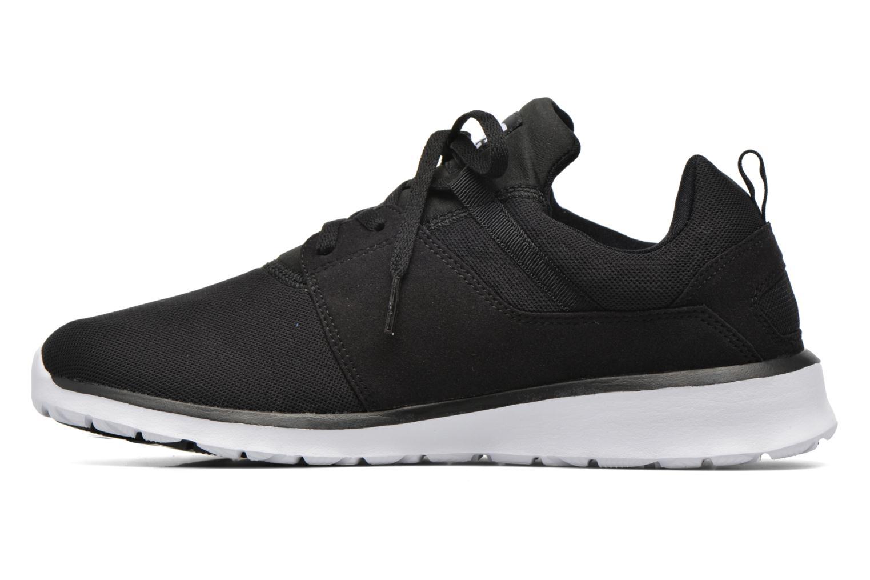 Sneakers DC Shoes Heathrow Zwart voorkant