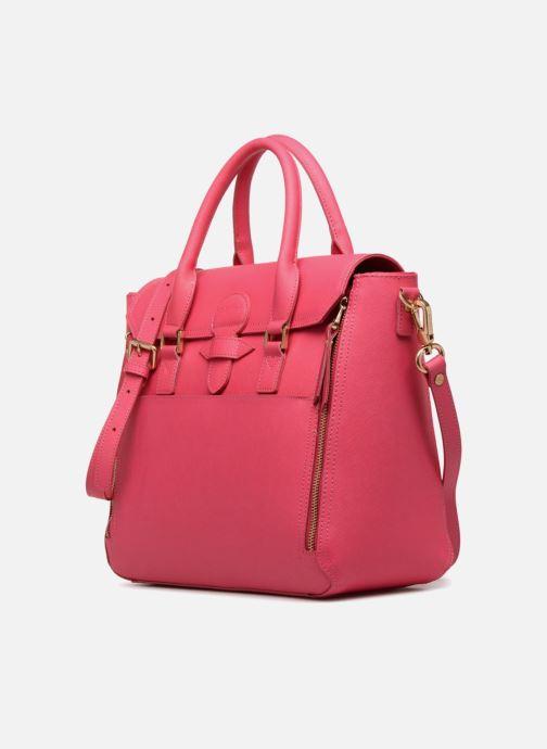 Handtaschen Sabrina Sofia rosa schuhe getragen