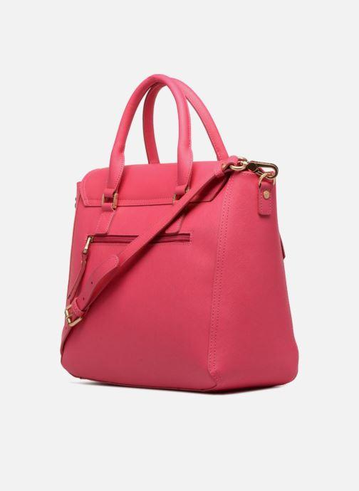 Handtaschen Sabrina Sofia rosa ansicht von rechts