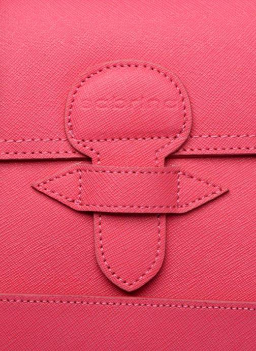 Handtaschen Sabrina Sofia rosa ansicht von links