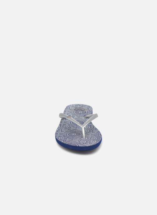 Tongs Roxy Bermuda Bleu vue portées chaussures