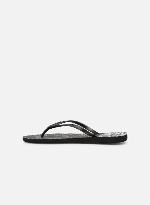 Tongs Roxy Bermuda Black White Roxy 8XwOPNn0kZ