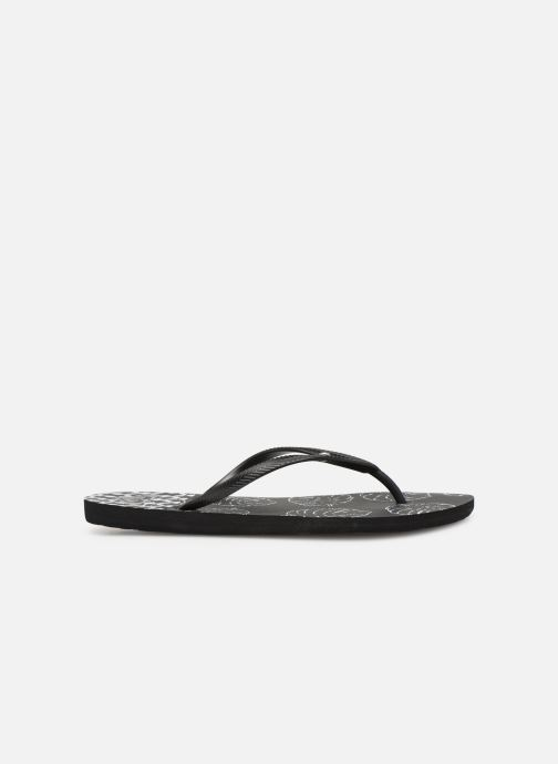 Flip flops Roxy Bermuda Black back view