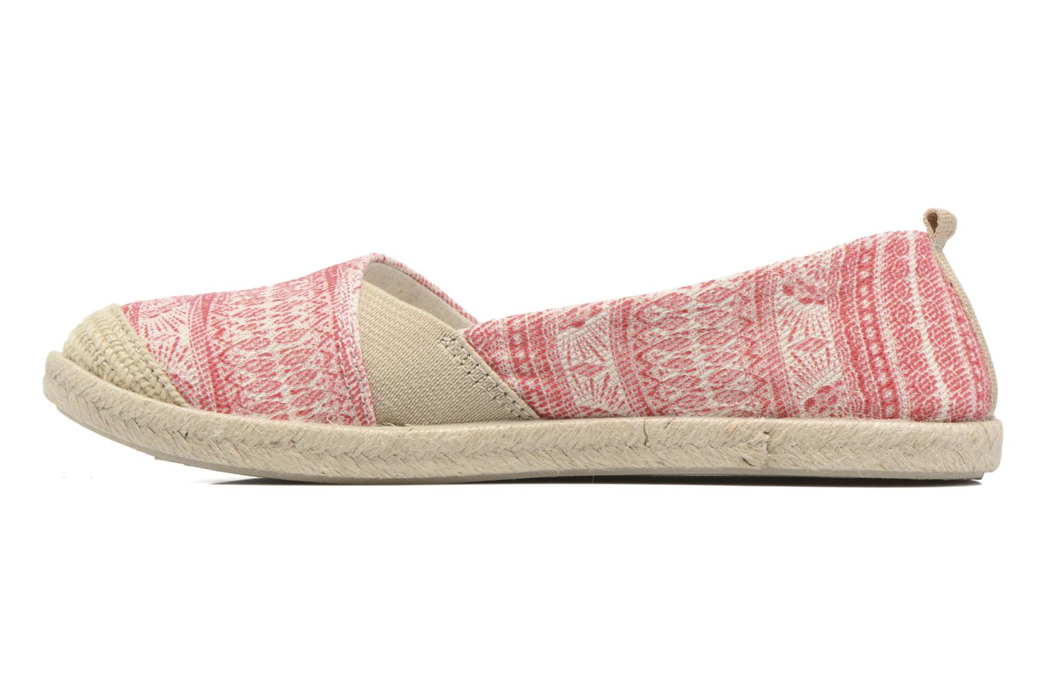 Espadrilles Roxy Flamenco Pink front view