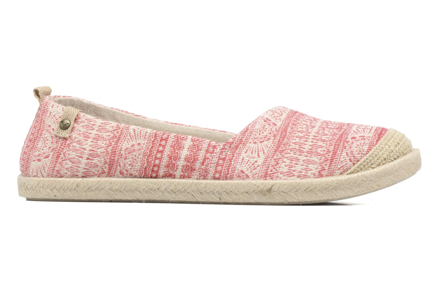 Espadrilles Roxy Flamenco Pink back view
