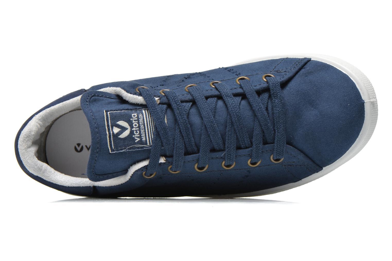 Sneakers Victoria Deportivo Basket Lona Tinta Blauw links