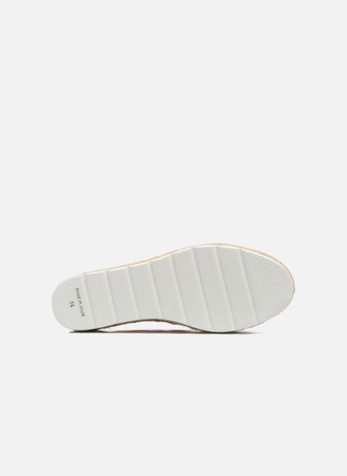 Lace-up shoes Victoria Basket Etnico Plataforma Yu Pink view from above