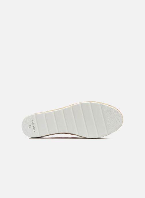 Zapatos con cordones Victoria Basket Etnico Plataforma Yu Rosa vista de arriba