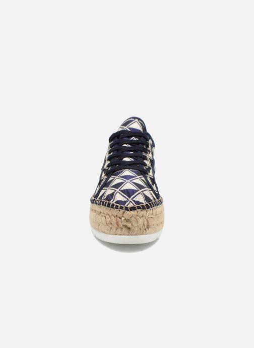 Sneaker Victoria Basket Geometrico Platafor mehrfarbig schuhe getragen