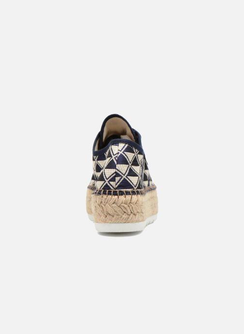 Sneakers Victoria Basket Geometrico Platafor Multicolor rechts