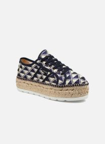 Sneakers Donna Basket Geometrico Platafor