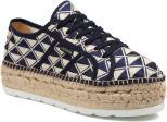 Sneakers Donna Basket Geometrico Platafor
