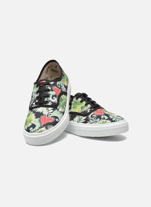 Sneakers Victoria Ingles Flores Y Corazones Multicolore immagine 3/4
