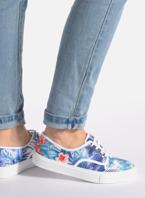 Sneakers Victoria Ingles Flores Y Corazones Multicolore immagine dal basso