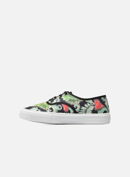 Sneakers Victoria Ingles Flores Y Corazones Multicolore immagine frontale