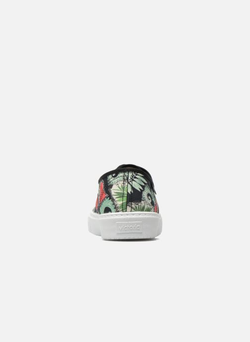 Sneakers Victoria Ingles Flores Y Corazones Multicolore immagine destra