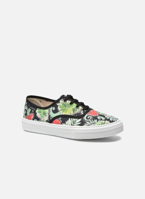 Sneakers Kvinder Ingles Flores Y Corazones