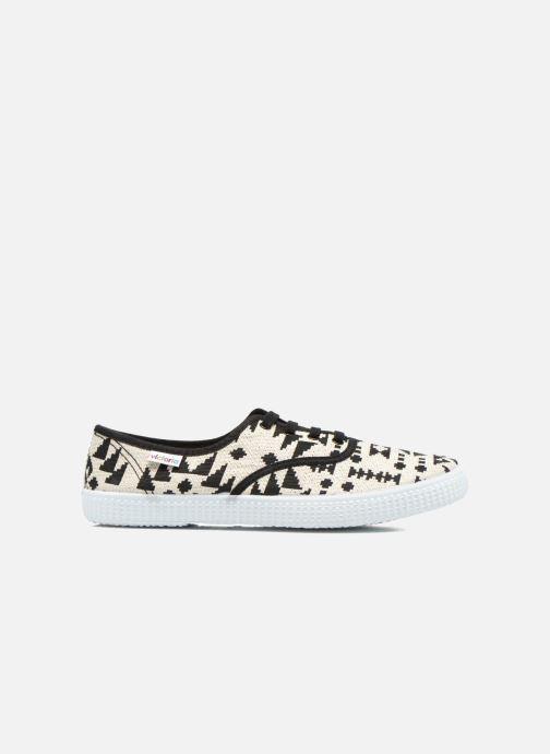 Sneaker Victoria Ingles Geometrico Lurex schwarz ansicht von hinten