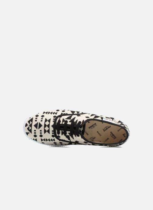 Sneaker Victoria Ingles Geometrico Lurex schwarz ansicht von links