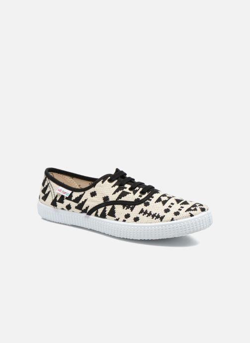 Sneaker Victoria Ingles Geometrico Lurex schwarz detaillierte ansicht/modell