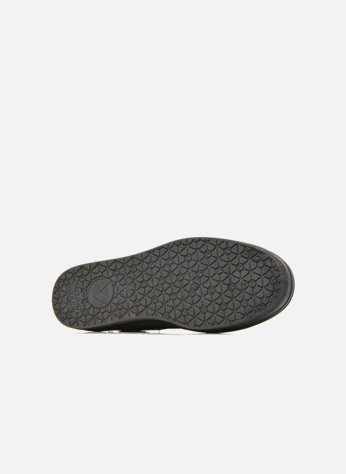 Sneakers Victoria Basket Lona Plataforma Zwart boven