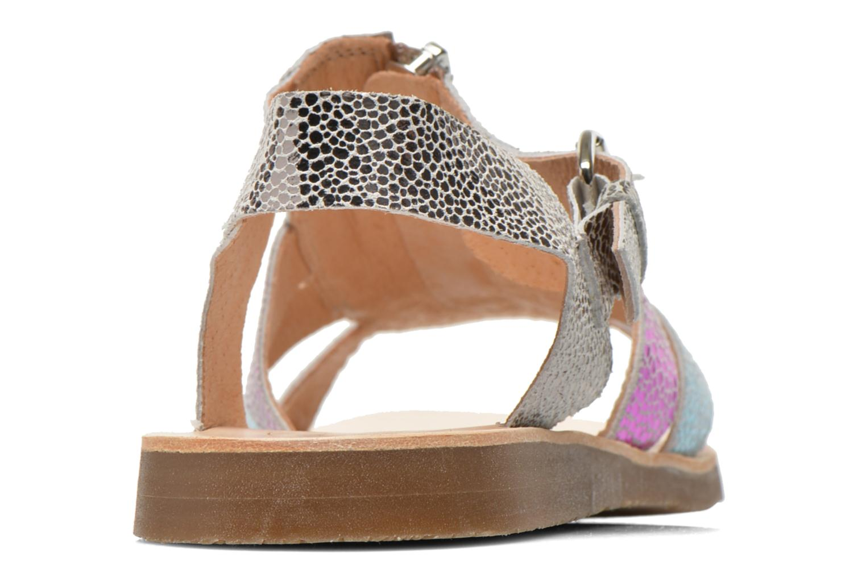 Sandales et nu-pieds Yep Daisie Multicolore vue droite