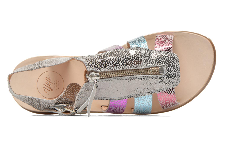 Sandales et nu-pieds Yep Daisie Multicolore vue gauche