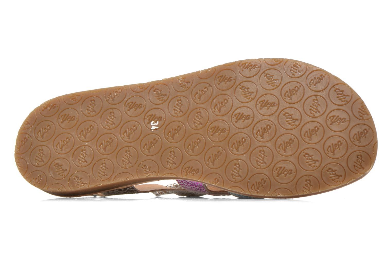 Sandales et nu-pieds Yep Daisie Multicolore vue haut