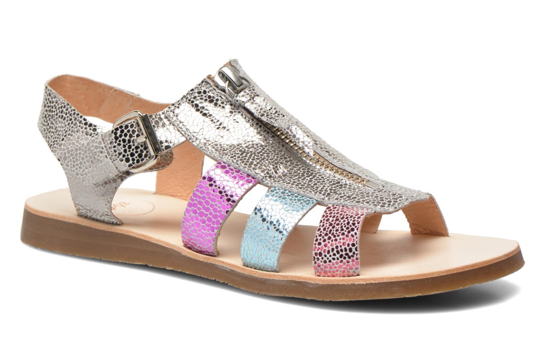 Sandales et nu-pieds Yep Daisie Multicolore vue détail/paire