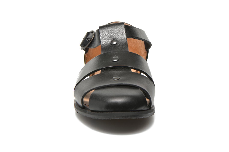 Sandales et nu-pieds Yep Eleonore Noir vue portées chaussures